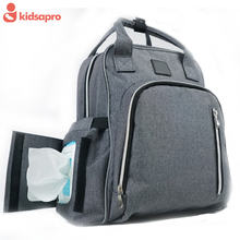 Multifunctional design baby changing pad diaper bag backpack for mom