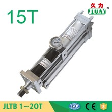 best price JULY factory custom adjustable stroke guided compact pneumatic cylinder