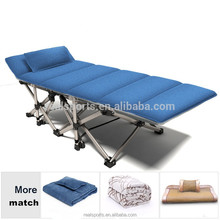 Army Military Camping Single Metal Folding beach bed/army folding bed/camping folding cot