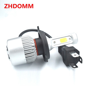 Wholesale auto lighting system led auto head lights with copper body H4 8000lm