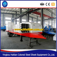 Arching Color Steel Platea Arched Curving Roof Panel Machine