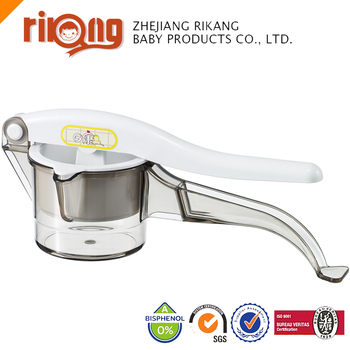 Baby manual Fruit plastic lemon squeezer ,squeezer machine