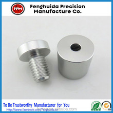 Aluminum/Stainless Steel Hollow Advertisement Fixing Screws Glass Standoff Pin Fastener Size 12*25mm