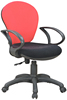 Fashionable office task chairs with fabric
