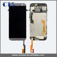 Factory price lcd for htc one m8 phone original , for htc one m8 lcd touch screen digitizer