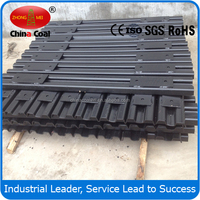 Q235 Steel Sleepers for 762mm Gauge Railway 30KG Rail