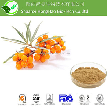 Low price organic wild dried sea buckthorn extract powder 10:1