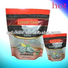 resealable food packaging bag printing