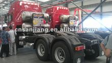 6X4 LNG heavy tractor truck