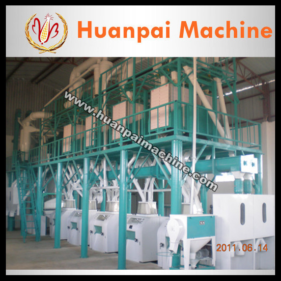 commercial flour mill for wheat/maize/corn