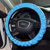 leather car steering wheel cover/ anti-oil steering wheel cover