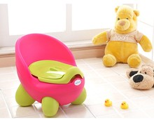 2017 New Arrival Lovely Colorful Plastic Toilet Training Potty For Baby