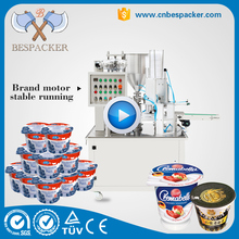 American Automatic cup filling and sealing machine ice cream cup sealing machine powder cup filling sealing machine