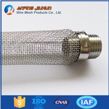Brand new stainless steel corny beer keg dry hop mesh filter stainless steel 300 micron filter keg