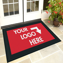 Custom Personalised Dye Sublimation Heat Tranfer Digital Printed Logo Doormats Door Floor Mats
