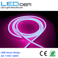 color changing led neon rope light , 100m decoration led rope light ,