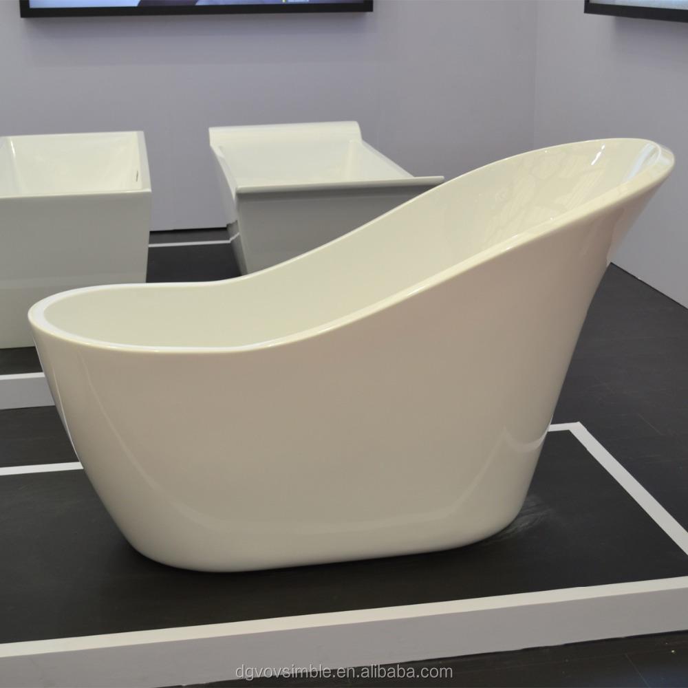 Artificial stone bath tub acrylic resin bathtub artificial for Freestanding stone resin bathtubs