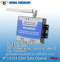 GSM Gate Door Opener Water Pump Motor Home Appliances On/Off SMS Remote Control(MODEL: RTU5024)