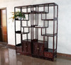 ancient antique china Chinese style living drawing room book shelf furnitures