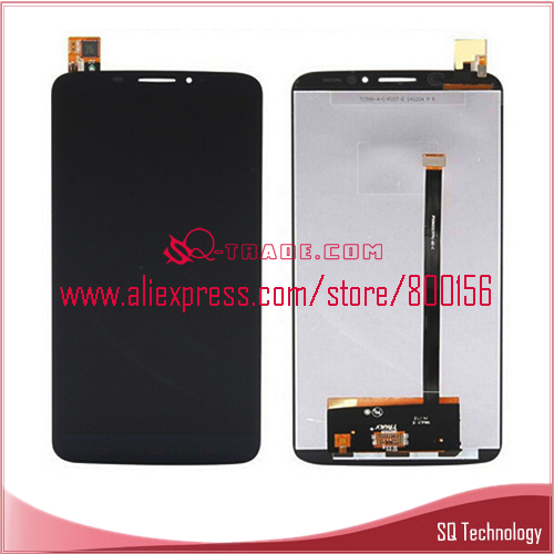 Mobile Phone for Alcatel One Touch 8020D LCD Screen and Touch Digitizer Complete black