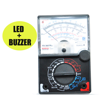 YX-360TRes Analog Multimeter For Student Teaching Preferred With LED+Continuity Buzzer