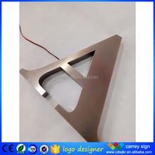 Outdoor advertising custom channel letter used led sample letter offering