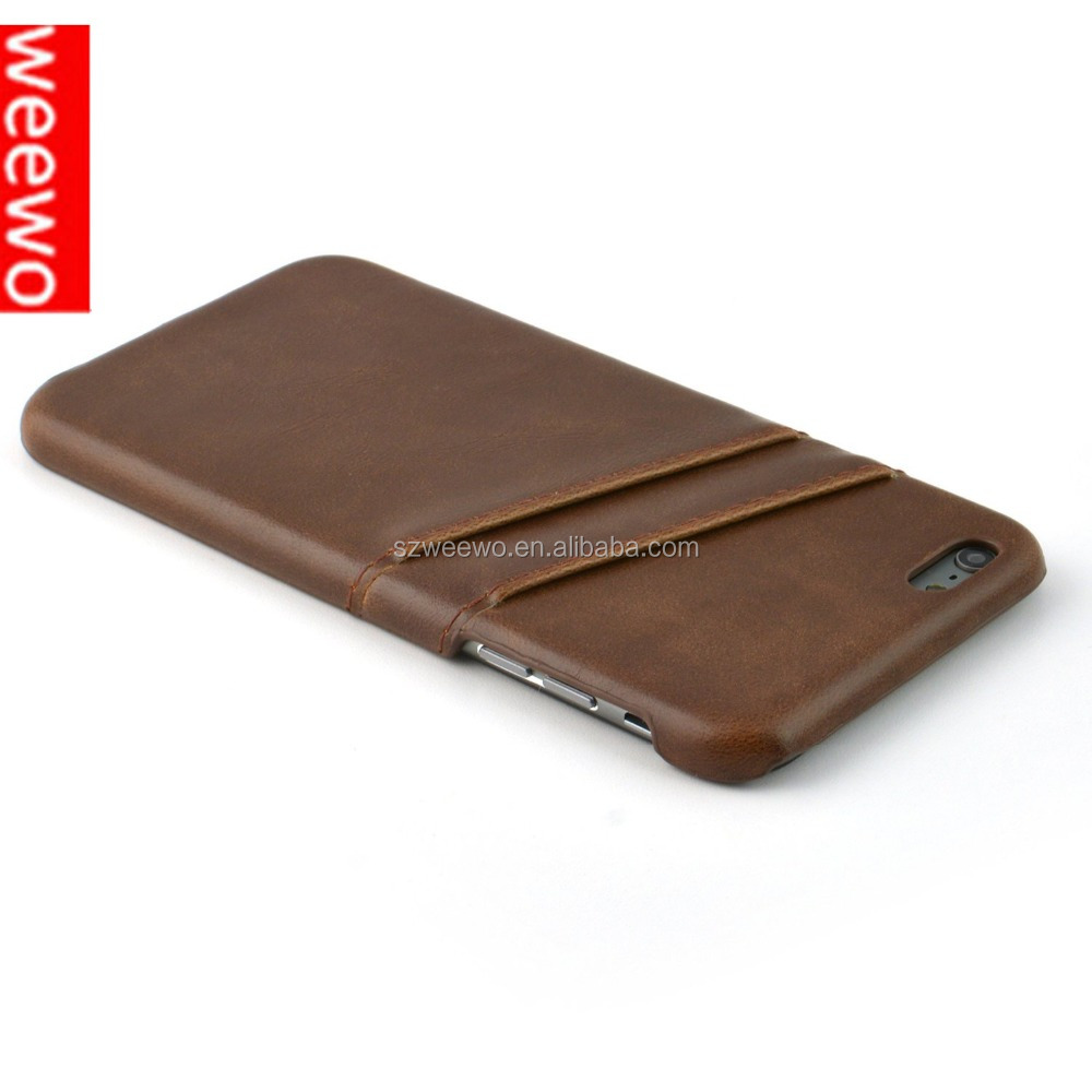 mobile phone shell,genuine leather case back cover for iPhone 7