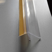 ISO9001passed Price tag holder manufacturer for shelf channel