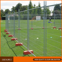 Hot dip galvanized temporary fence for construction used