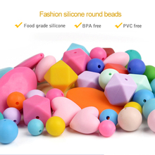 Oem Jewelry Manufacturer BPA Free Silicone Loose Beads Custom Beads Wholesale