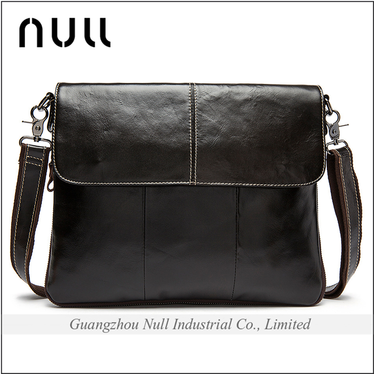 China factory wholesale price high quality cowhide leather crossbody bag designer handbag for men