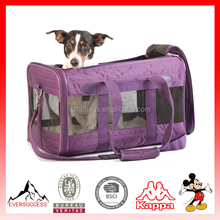 "Newly Designed 2016 Model Airline Approved"" Travel Tote Soft Sided Bag Pet Carrier For Dogs & Cats (ES-Z371)"