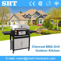 Best Quality Professional Full Stainless Steel Barbecue Charcoal Grill Unit