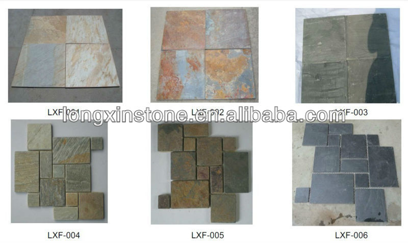 fireplace rustic magic slate tiles