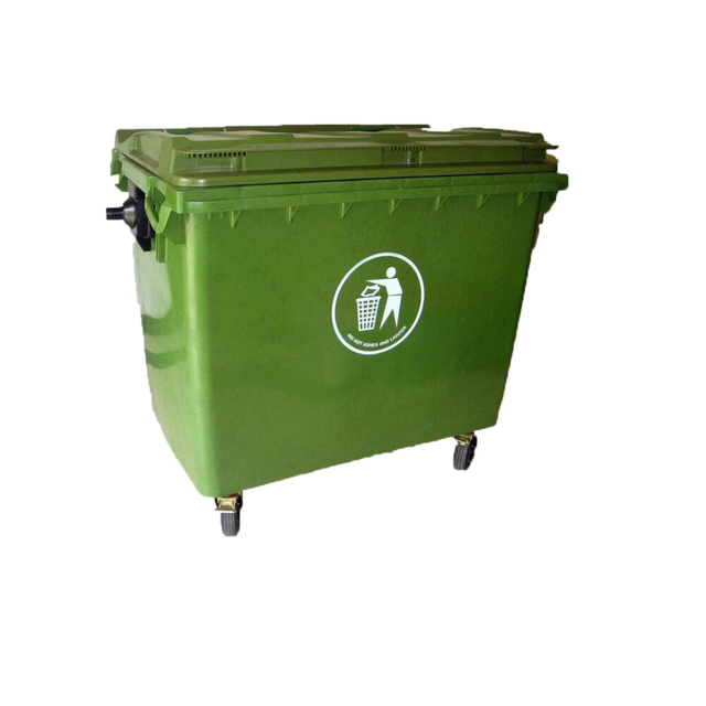 HDPE Cheap industrial plastic garbage bin Dustbins