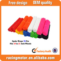 8 Colors Spoke Wraps Covers Fit