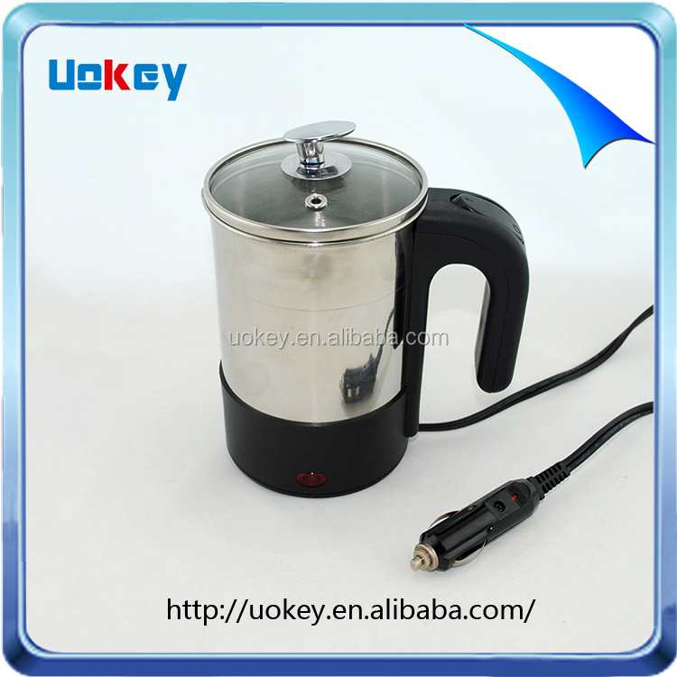 Best service OEM stainless steel electric kettle for car