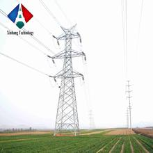 tube hot dip pole polygonal conical line electric galvanized monopole 132kv electricity power steel poles