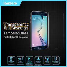 Transparency Full Coverage Tempered Glass Screen Protector For Samsung Galaxy S6 Edge/S6 Edge Plus Anti-Scratch 9H 0.33mm