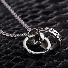 High Quality Popular Stainless Steel Wedding Ring Holder Necklace