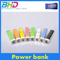 Top selling gadgets Mobile Power Charger power bank 2600mah for iPhone 6 phone battery pack