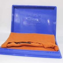 Clear printing plastic box for t-shirts,blister packaging box for t-shirts,clothe box