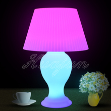modern portable colorful cordless led desk lamp/ led table lamp for hotel decoration