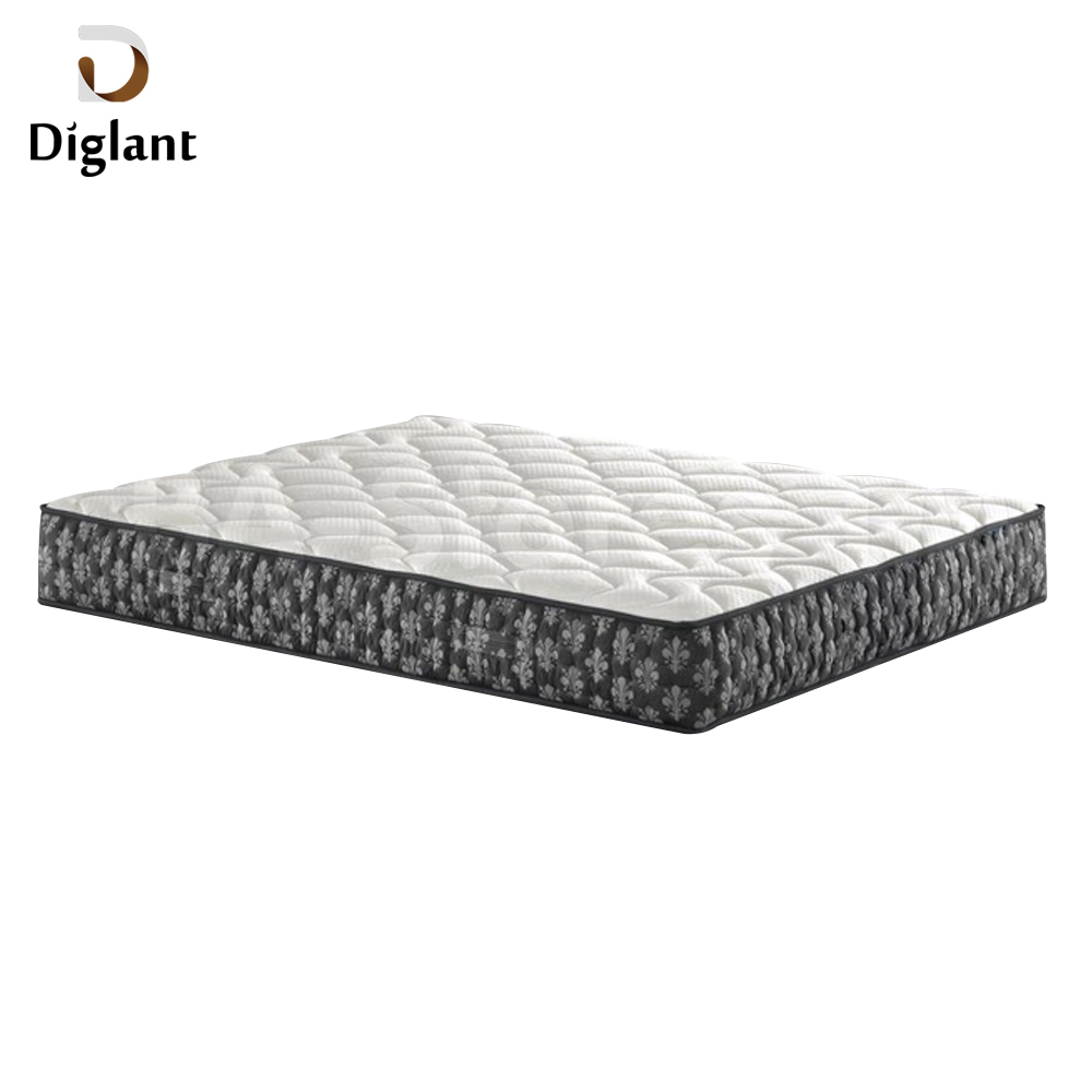DM017 Diglant Gel Memory Latest Double Fabric Foldable King Size Bed Pocket bedroom furniture adjustable mattress - Jozy Mattress | Jozy.net