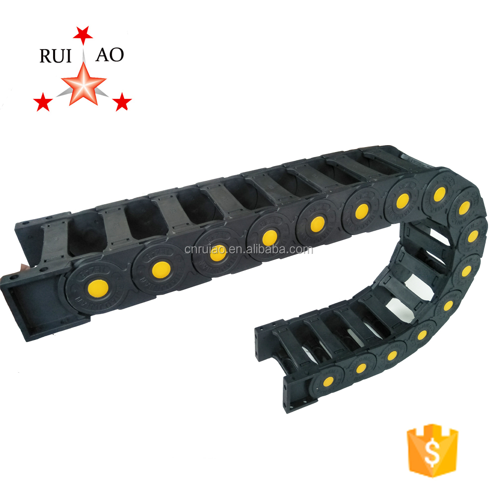 Plastic cable drag chain towling chain cable carrier cable cover