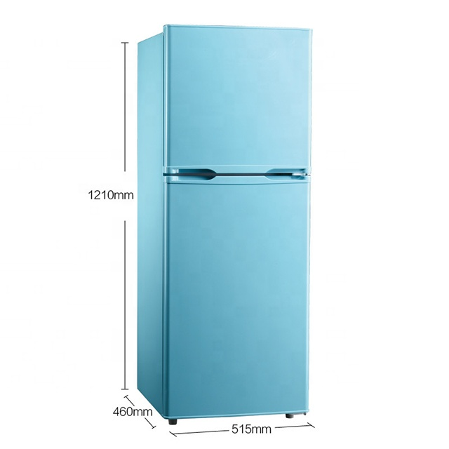 139L double door Refrigerator no frost freezer,home <strong>appliance</strong>,solid door freezer /vertical home use freezer