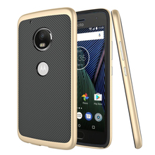 C&T Gold PC Bumper TPU 2 In 1 Hybrid Cell Phone Case for Motorola Moto G5 Plus