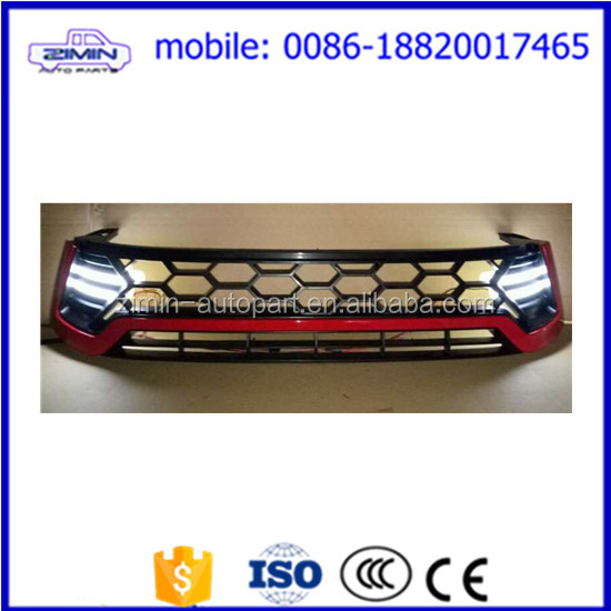 4x4 Accessories Front red grille TRD grille for Toyota Hilux vigo Revo 2016