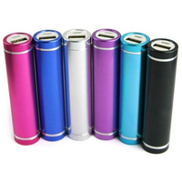 Metal Power Bank 2600mah Mobile Power