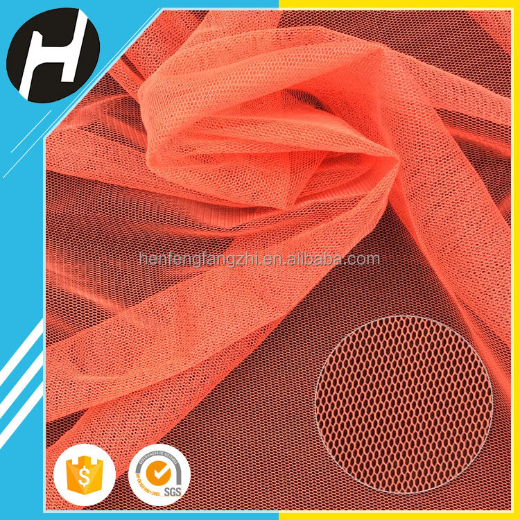 multi-colored heavy duty polyester mosquito net <strong>material</strong> for kids apparel